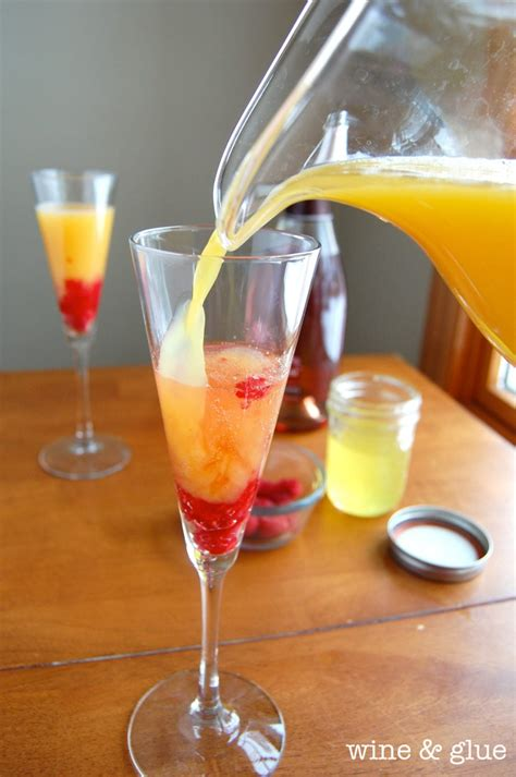 mimosa recipes sunrise mimosa wine glue