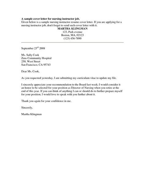 cover letter exles for nursing homes cover letter templates