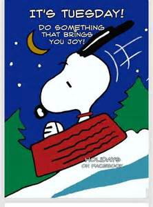 Snoopy Tuesday