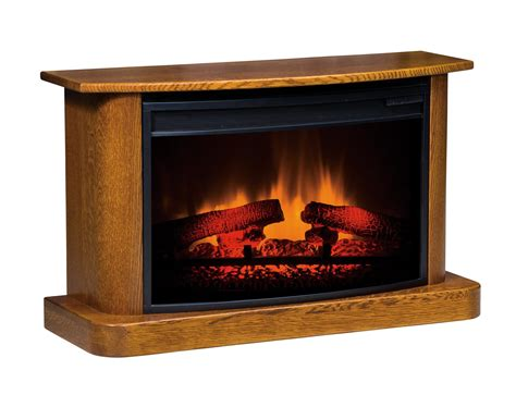 lancaster heritage led fireplace  dutchcrafters amish