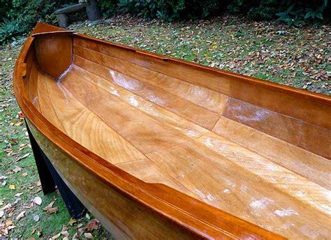 12 Sassafras Lapstrake Canoe