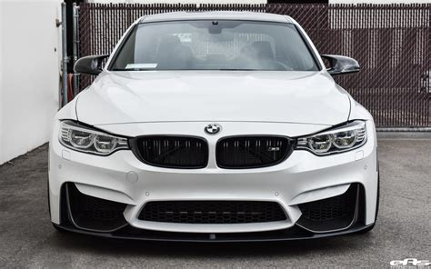 Bmw Mineral White by A Mineral White Bmw M3 Zcp Gets M Performance Parts
