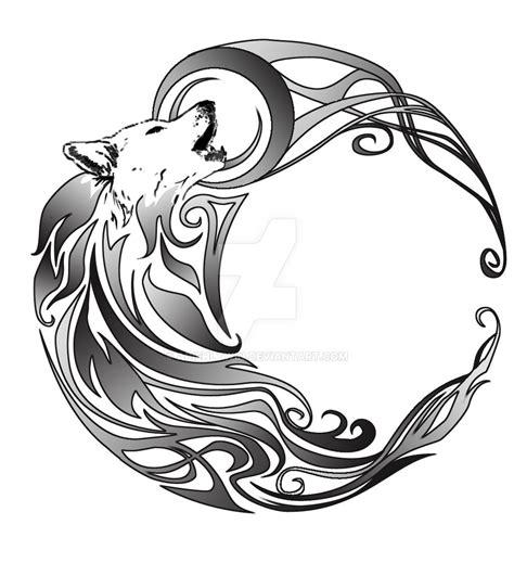 deviantart   fox  wolf tattoo  fleech hunter