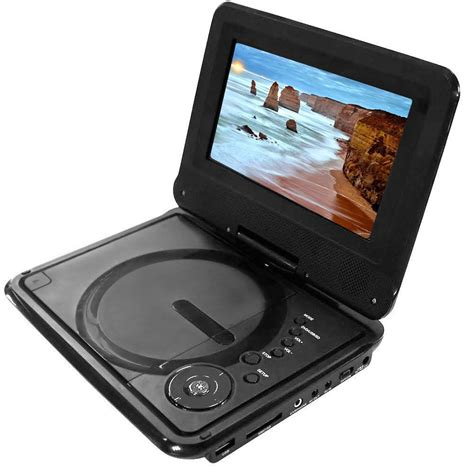 Portable Dvd Player For Car With Usb 7 quot portable dvd player w usb car adapter region free