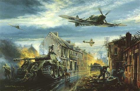 aviation art bailey robert typhoon fury