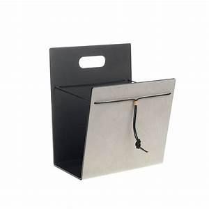 Porte Revue Cuir : holder porte revues cuir alu design lind dna ~ Teatrodelosmanantiales.com Idées de Décoration