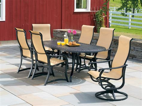 Telescope Patio Furniture Covers by Telescope Casual Villa Sling Aluminum Supreme Stacking Arm