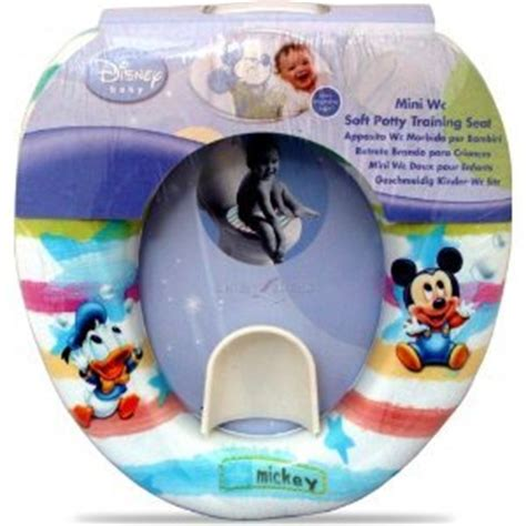disney mickey mouse soft potty toilet training seat