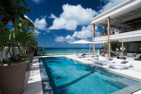 barbados beachfront villa  sale