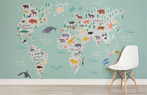 world map designs  decorate  plain wall