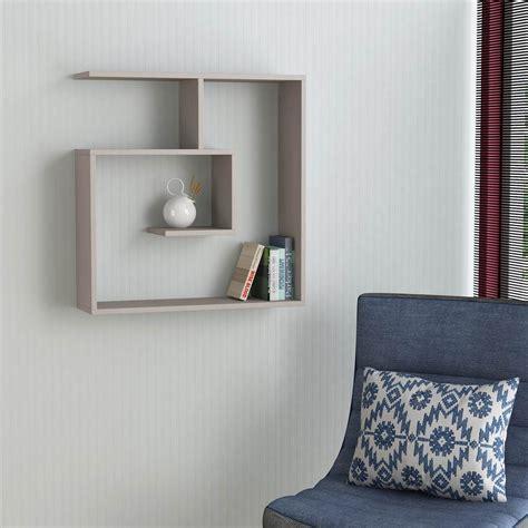 libreria mensola spyral mensola libreria da parete in legno melaminico