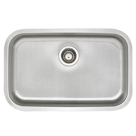 ada sinks home depot blanco stellar undermount stainless steel 28 in single