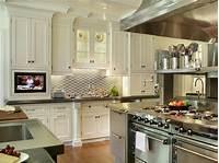 kitchen backsplash ideas Stainless Steel Backsplash Tiles: Pictures & Ideas From HGTV | Kitchen Ideas & Design with ...