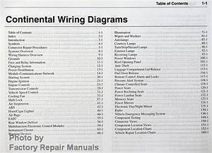 2002 Lincoln Continental Electrical Wiring Diagrams