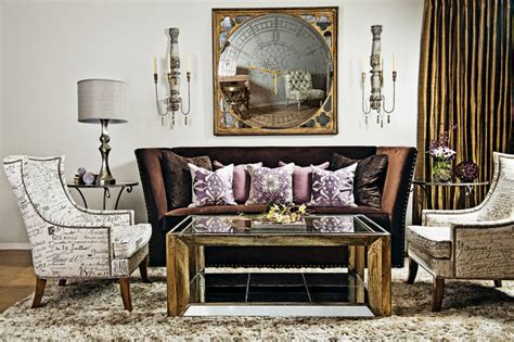 home fashion interiors something amethyst evening eclectic living room by