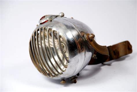 seltene luxor frontlampe vergittert  oldtimer fahrrad