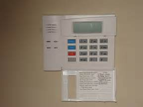 Honeywell Alarm System Panel