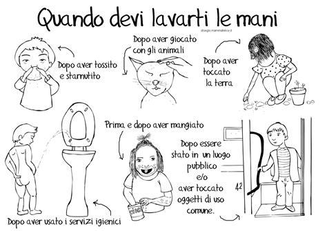 disegni con le bambini disegno per imparare a lavarsi le disegni mammafelice