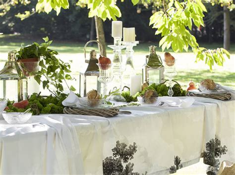 idee decoration table champetre