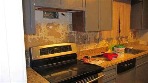 how to remove kitchen tile how to repair drywall after removing tile prepare for tiling 7337
