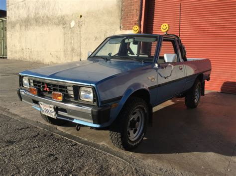 Mitsubishi Mighty Max For Sale by 1984 Mitsubishi Mighty Max Turbo Diesel 4x4 For Sale