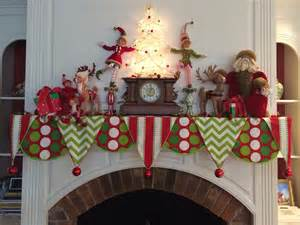 christmas mantle scarf by sharpe designs holiday seasonal decorating pinterest mantle