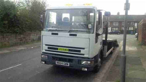1996 Iveco Ford New Cargo White Recovery Truck Transporter