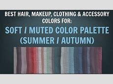 Soft Summer & Soft Autumn Color Palette – Best Hair