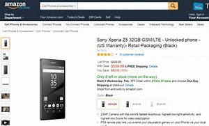 Xperia Z5 Gets  60 Price Cut In Us A Week After Launch