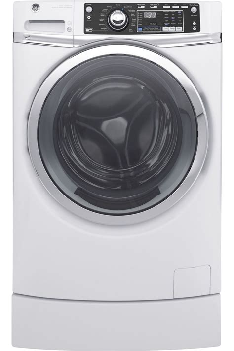 ge white front load steam washer gfwrskww