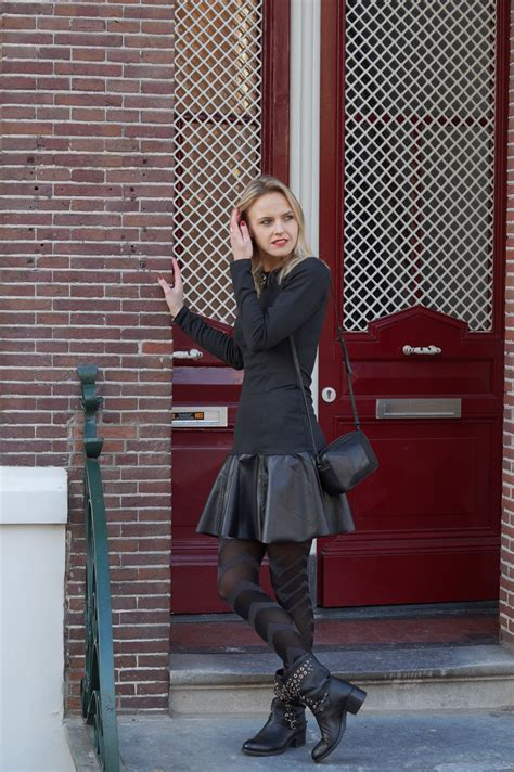 Bag You Fashion Blog Street Style Black Boots Grey