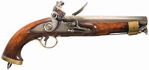 British New Land Pattern Cavalry Flintlock Pistol with ...
