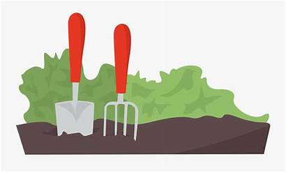 Gardening Clipart Garden Background Tool Transparent Tools