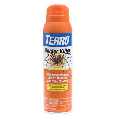 spider spray terro 174 spider killer spray our best spider killer