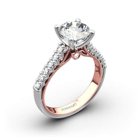 Verragio 901r72t Two Tone Diamond Engagement Ring  3651. File Rings. Self Defense Rings. $50000 Engagement Rings. Pagan Wedding Rings. Odd Shaped Wedding Rings. Genuine Diamond Wedding Rings. Upside Down Engagement Rings. Hint Engagement Rings