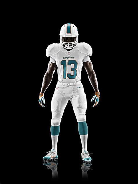 miami dolphins unveil  uniform design   season