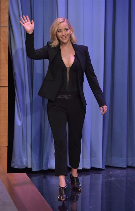 Jennifer Lawrence At The Tonight Show Starring Jimmy