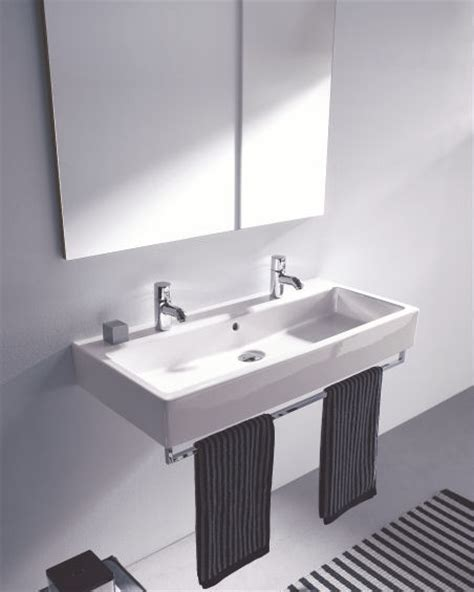 Duravit Sinks And Vanities by Duravit Vero Washbasin Classic Rectangular Washbasin In