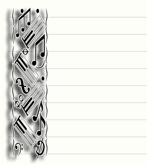 printable  stationary stationery note paper