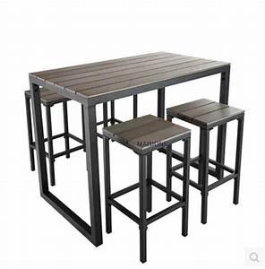 Haute Table De Bar : beau table haute pour petite cuisine 2 table de bar ~ Edinachiropracticcenter.com Idées de Décoration