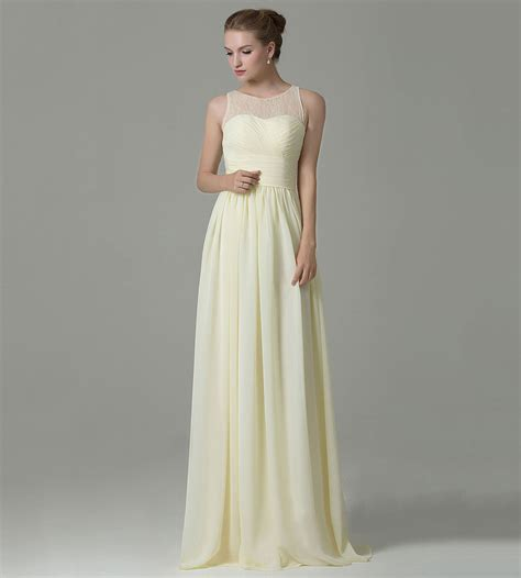 light yellow dress light yellow bridesmaid dress promotion shop for