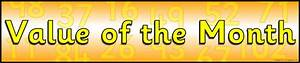 Value Of The Month Display Banner  Sb10170