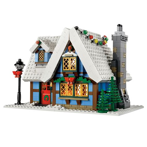 Winter Cottage Lego by Lego Winter Cottage 10229