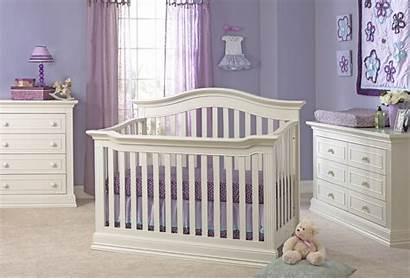 Crib Nursery Montana Mattress Glazed Convertible Lifetime