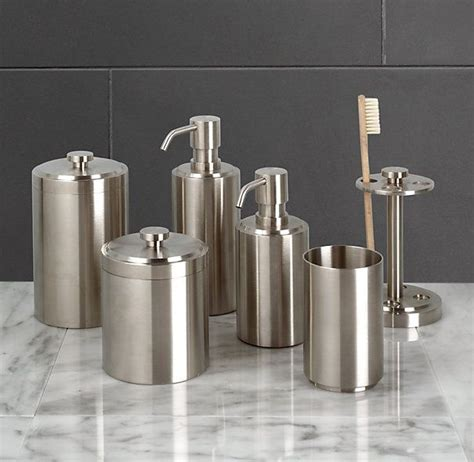 restoration hardware bathroom accessories for the guest bath option 2 spritz accessories 36