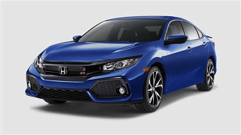 honda civic 2018 honda civic si sedan coupe coming with a 205hp 1 5l