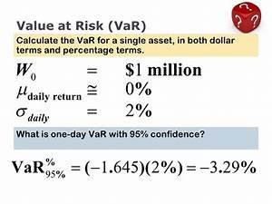 Value At Risk Berechnen Beispiel : value at risk var intro ~ Themetempest.com Abrechnung