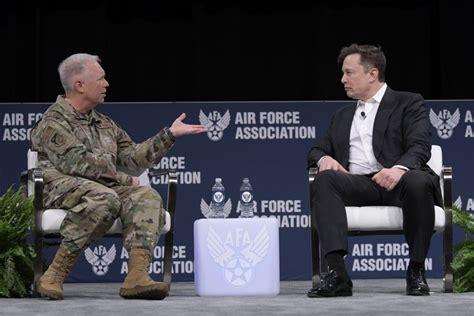 elon musk  fighter jet era  passed air force