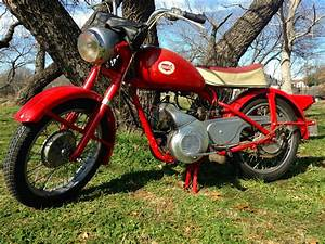 Vintage 1960 Allstate 150  Puch  Great Barn Find    Rocket Scooter   Very Rare