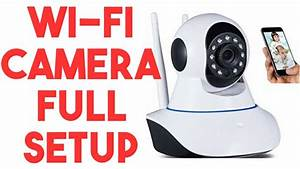 Ip Camera Wireless P2p Easy Setup For Iphone  Android  Pc